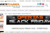 Black Friday en StreetPadel, las mejores ofeftas