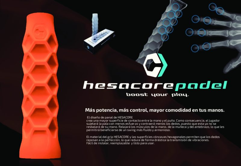 Grip Hesacore Bullpadel Hack LTD Edition