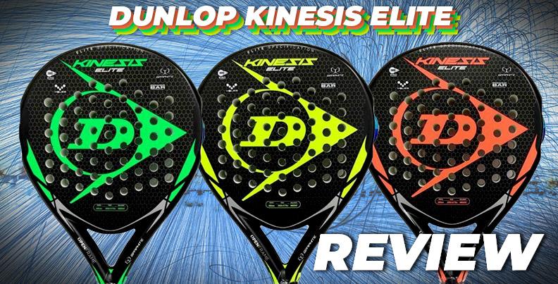 Nueva pala Dunlop Kinesis Elite
